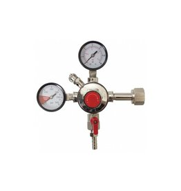 Fermentap CO2 Regulator - Dual Gauge