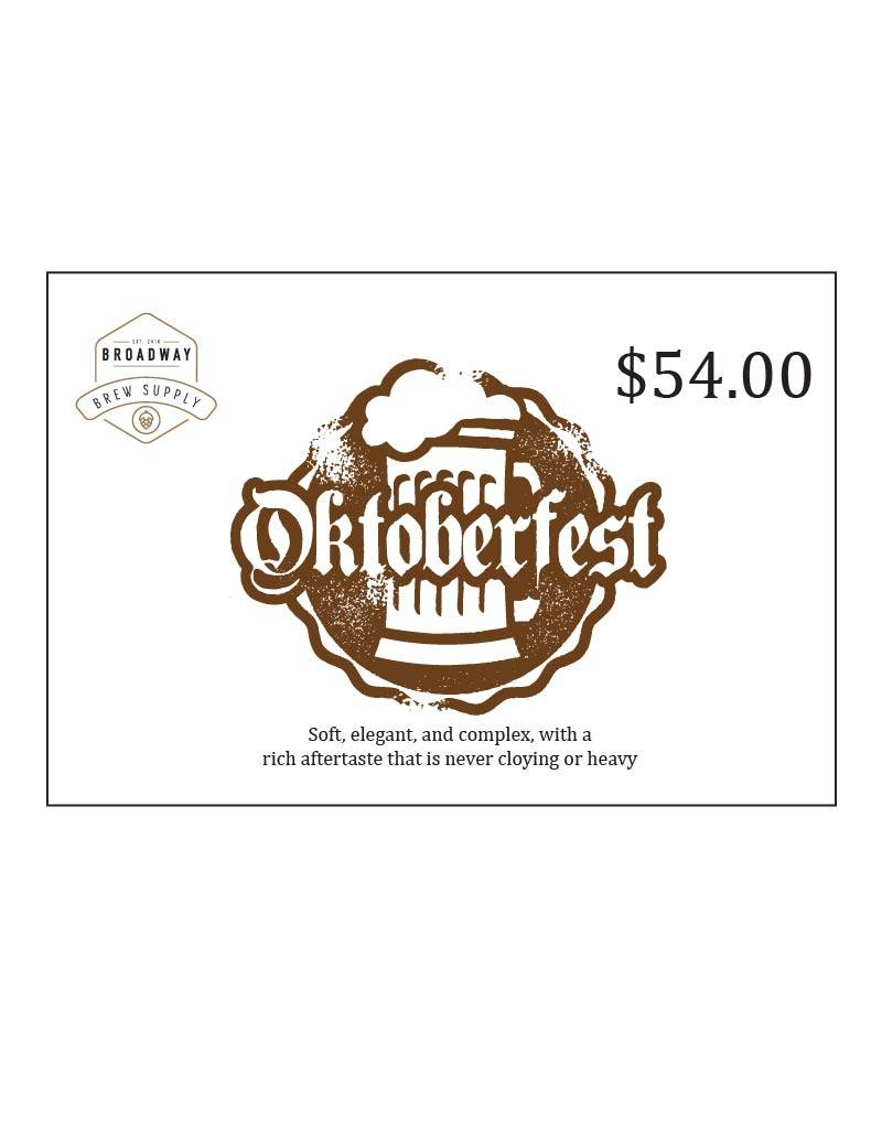 Oktoberfest 5 Gal Beer Recipe Kit