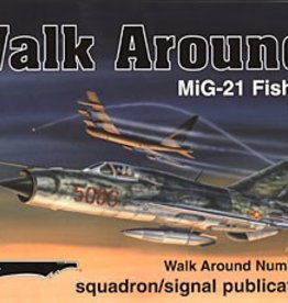 Squadron Signal      Publications (SSP) MiG-21 Fishbed Walkaround