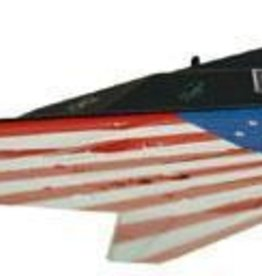 "Model Power (MDP) 1/150 Die-Cast F-117 Stealth Fighter ""Stars and Stripes"""