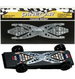 Pine Car (PIN) Chassis Weight, Rocket Car