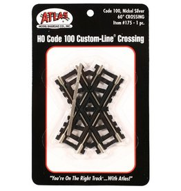 Atlas (ATL) HO C100 60 Deg Custom Crossing