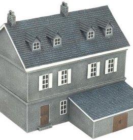 GF9 (GF9) 15mm Terraced House - Dieppe