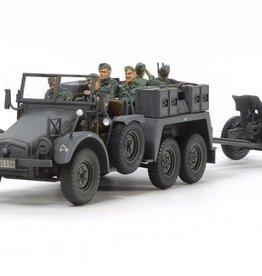 Tamiya (TAM) 1/48 Krupp Protze 6x4 Truck w/PaK36 AT Gun