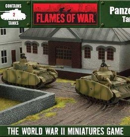 Flames of War (FOW) 15mm Panzer IV H (2)