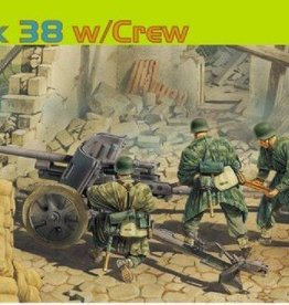Dragon Models (DML) 1/35 5cm Pak 38 with Crew