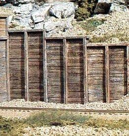 Woodland Scenics (WOO) HO Retaining Wall, Timber (3)