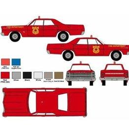 Classic Metal Works (MWI) HO 1967 Ford Custom Fire Chief