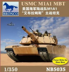 Bronco Models (BOM) 1/350 USMC M1A1 MBT
