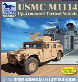 Bronco Models (BOM) 1/350 USMC M1114  Up Armore Tactical Vehice.