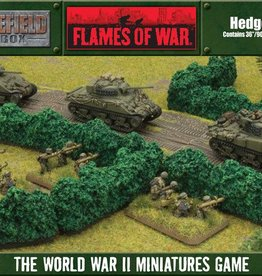 Flames of War (FOW) 15mm Hedgerows