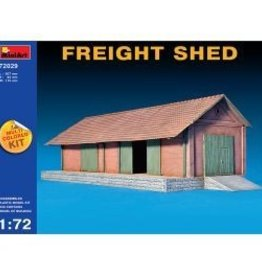 MiniArt (MNA) 1/72 FREIGHT SHED