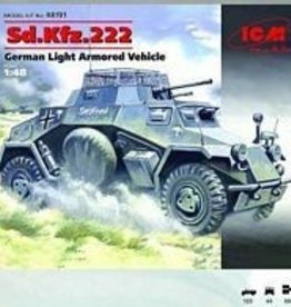 ICM Models (ICM) 1/48 Sd.Kdfz. 222 German Light Armored Car