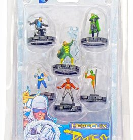 Wizkids (WZK) DC HeroClix; The Flash The Rogues Fast Forces Pack