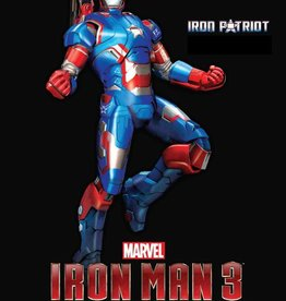 Dragon Models (DML) 1/9 Iron Man 3-Iron Patriot,Action Hero Vignette