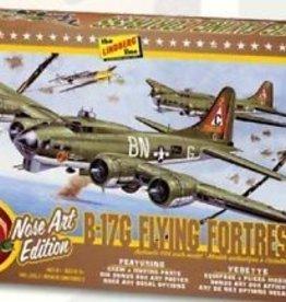 Lindberg (LND) 1/64 B-17G NOSE ART