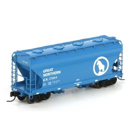 Athearn (ATH) N RTR ACF 2970 Covered Hopper, GN #173914
