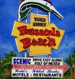 Miller Engineering (MIL) Pensacola Beach Lighted Desktop Sign