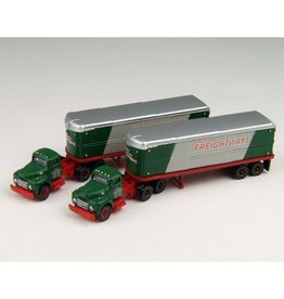 Classic Metal Works (MWI) N IH R-190 Trac/Aero Trlr,CF (2)