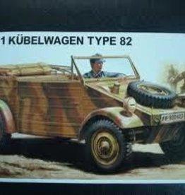 Hasegawa (HSG) 1/24 Kubelwagen Type 82
