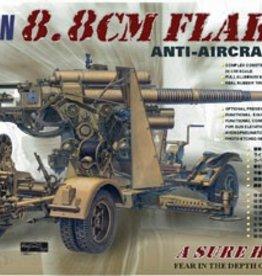 AFV Club (AFV) 1/35 8.8cm FlaK 18 AA Gun