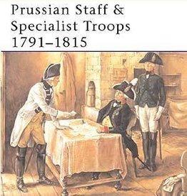 Osprey Publishing (OSP) Prussian Staff & Specialist Troops 1791-1815