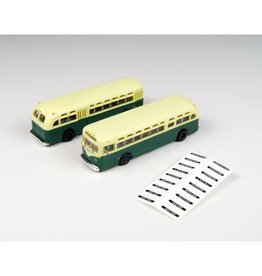 Classic Metal Works (MWI) N GMC TDH3610 Bus, Gr/Cream (2)