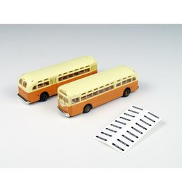 Classic Metal Works (MWI) N GMC TDH3610 Bus, Org/Cream(2)