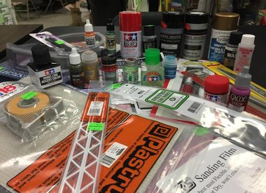 Adhesives, Tools, and Paints