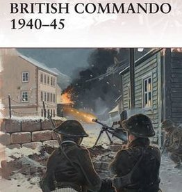 Osprey Publishing (OSP) BRITISH COMMANDO 1940-45