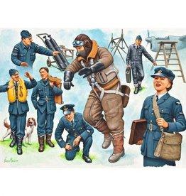 Revell Germany (RVL) 1/48 PILOTS/GROUND CREW WWII