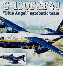 A Model (AMZ) 1/144 C-130F & F-4J Blue Angels