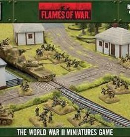 Flames of War (FOW) 15mm Rural Road Expansion Set