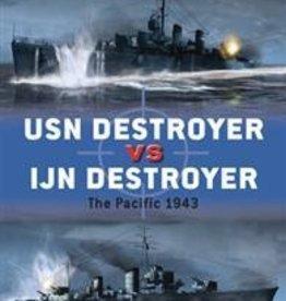 Osprey Publishing (OSP) USN Destroyer vs IJN Destroyer (SC)