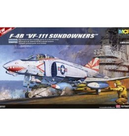 Academy/Model Rectifier Corp. (ACY) 1/48 F-4B VF-111 SUNDOWNERS