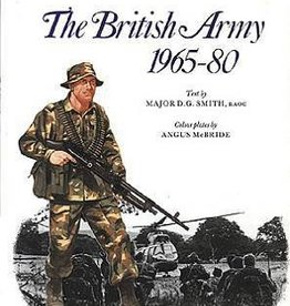 Osprey Publishing (OSP) The British Army 1965-80 (SC)