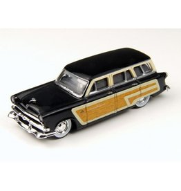Classic Metal Works (MWI) HO '53 Ford Squire Wagon, Blk