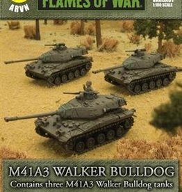 Flames of War (FOW) 15mm M41A3 Walker Bulldog (3) ARVN