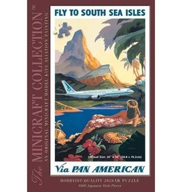 Minicraft Models (MMI) 1000pc Fly to South Sea Isles Puzzle