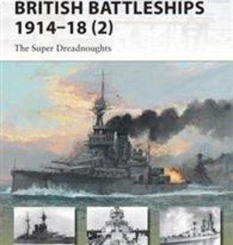 Osprey Publishing (OSP) British Battleships 1914-18 (pt. 2) (SC)