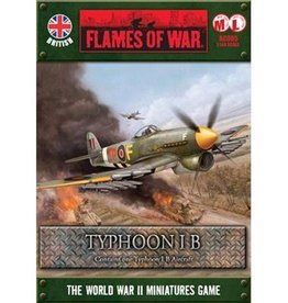 Flames of War (FOW) 1/144 Typhoon