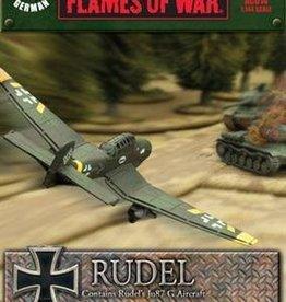 Flames of War (FOW) 1/144 Oberst Hans-Ulrich Rudel (stuka)