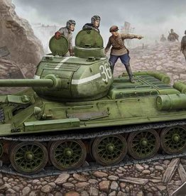 Hobby Boss (HBO) 1/48 T-34/85 Model '44 (flattened turret joint)