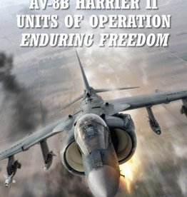 Osprey Publishing (OSP) AV-8B Harrier II Units of Operation Enduring Freedom