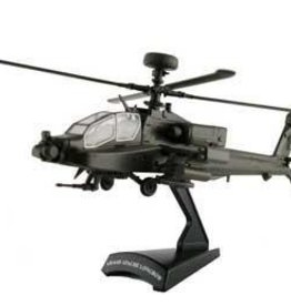 Model Power (MDP) 1/100 Apache Helicopter Die-Cast