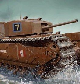 Dragon Models (DML) 1/72 Churchill Mk.III w/deep wading trunks