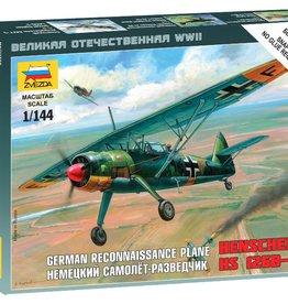Zvezda (ZVE) 1/144 Hs 126 German Recon
