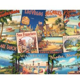 Ravensberger (RVB) Vintage Vacations 2000 pc