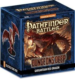 Wizkids (WZK) Pathfinder Battles: Dungeons Deep Gargantuan Red Dragon PR