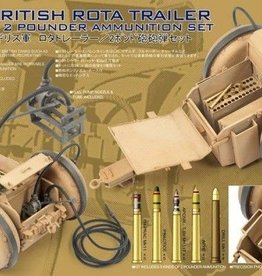 AFV Club (AFV) 1/35 British Rota Trailer w/2 pdr Ammo